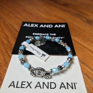 Disney Parks Alex and Ani Cinderella Wrap Bracelet